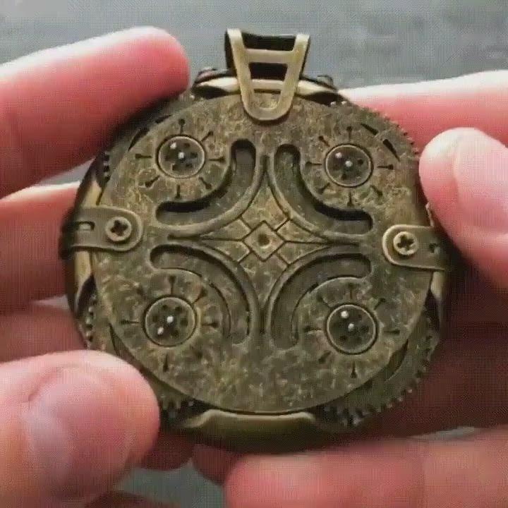 Cryptex Round Lock Compass Usb Flash Drive Video Usb Keys Flash Drive Usb Stick