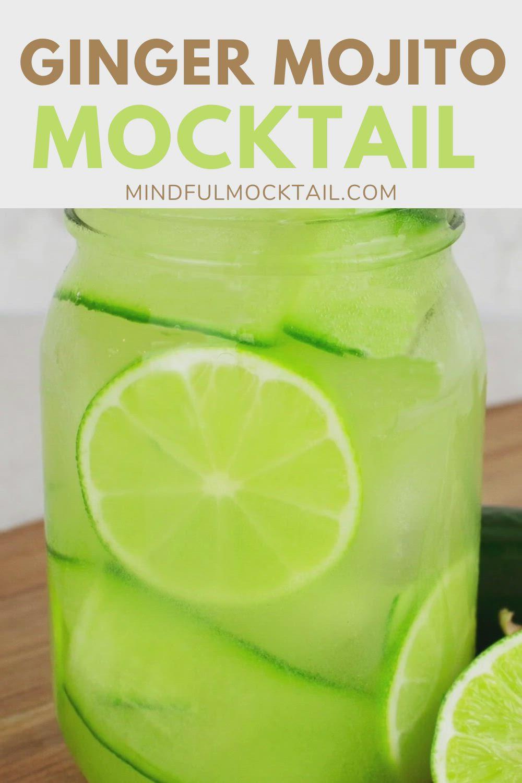 Ginger Mojito Mocktail Recipe Video In 2021 Ginger Recipes Easy Mocktail Recipes Mocktail Recipe