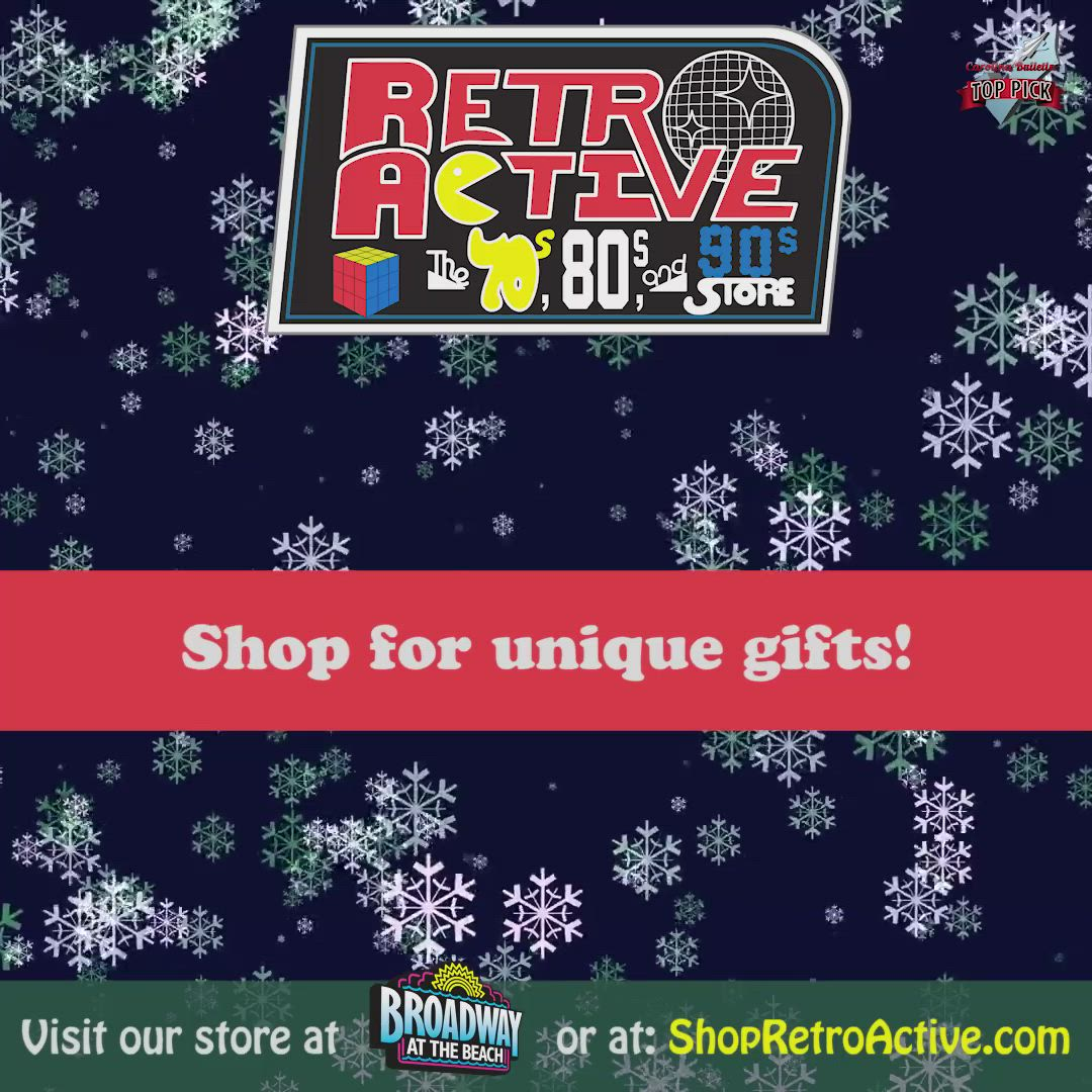 Shop For Unique Gifts At Retro Active Video Myrtle Beach Retro Decor Style Broadway At The Beach