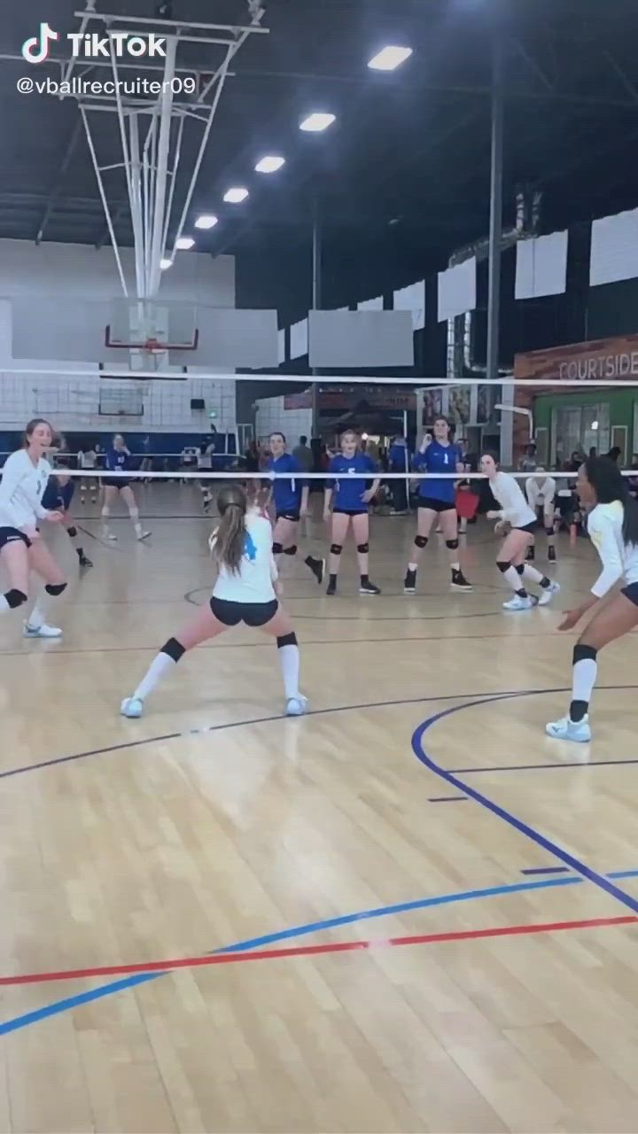 Volleyball Video In 2020 Volleyball Tryouts Volleyball Inspiration Volleyball Workouts