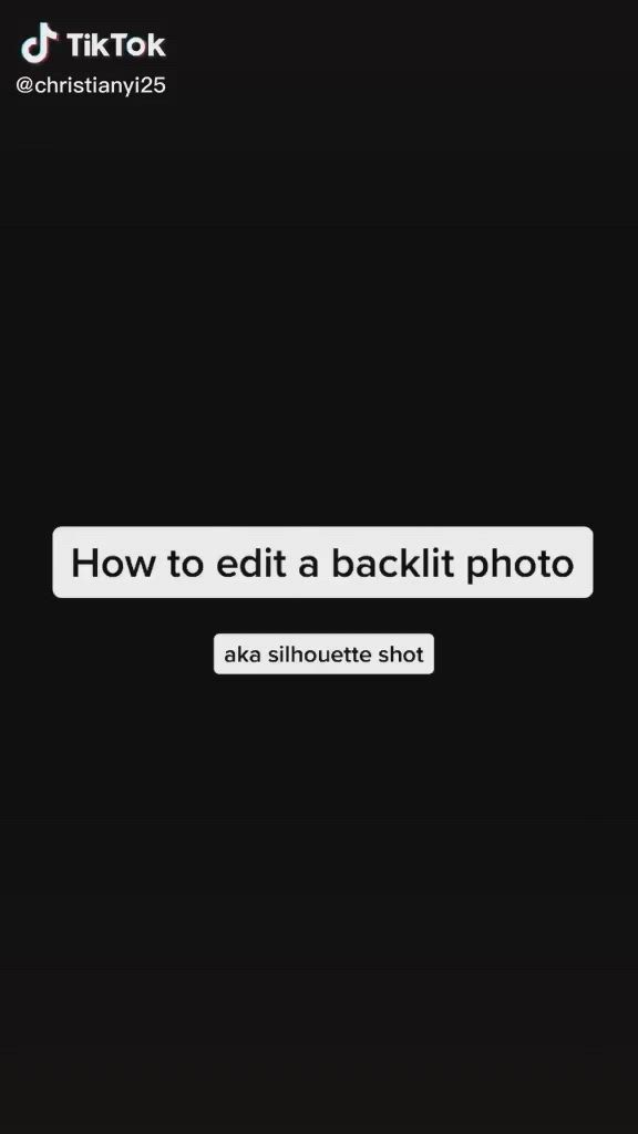 How To Edit A Silhouette Shot Video Photography Editing Instagram Photo Editing Photo Editing