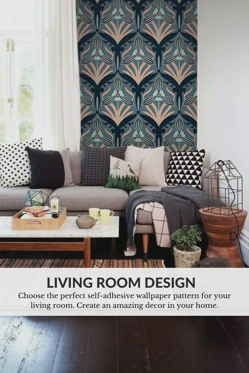Living Room Design Home Decor Ideas With Peel And Stick Wallpaper Video Living Room Designs Grey Walls Removable Wallpaper