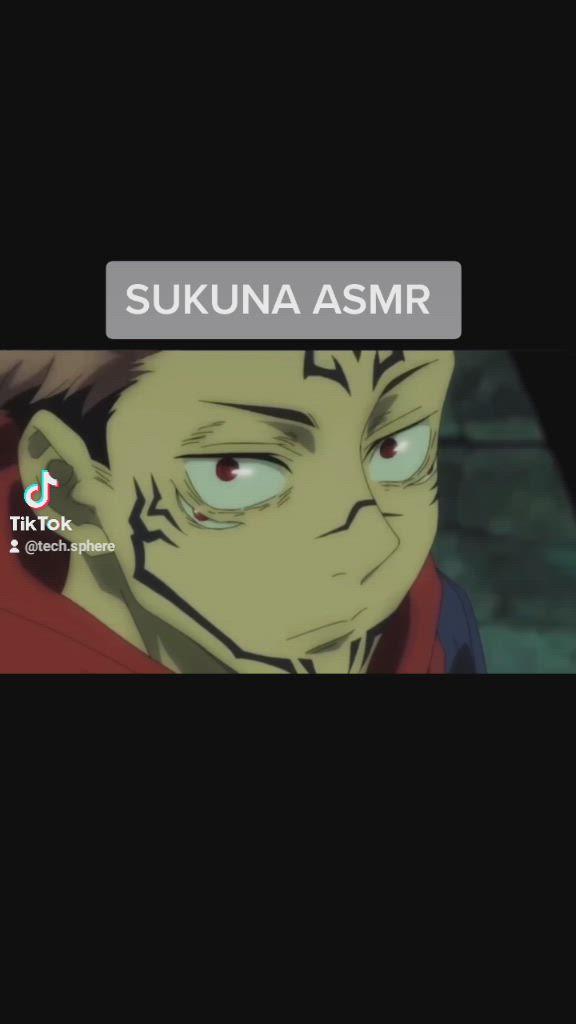 Sukuna Asmr Video In 2021 Otaku Anime Anime Asmr