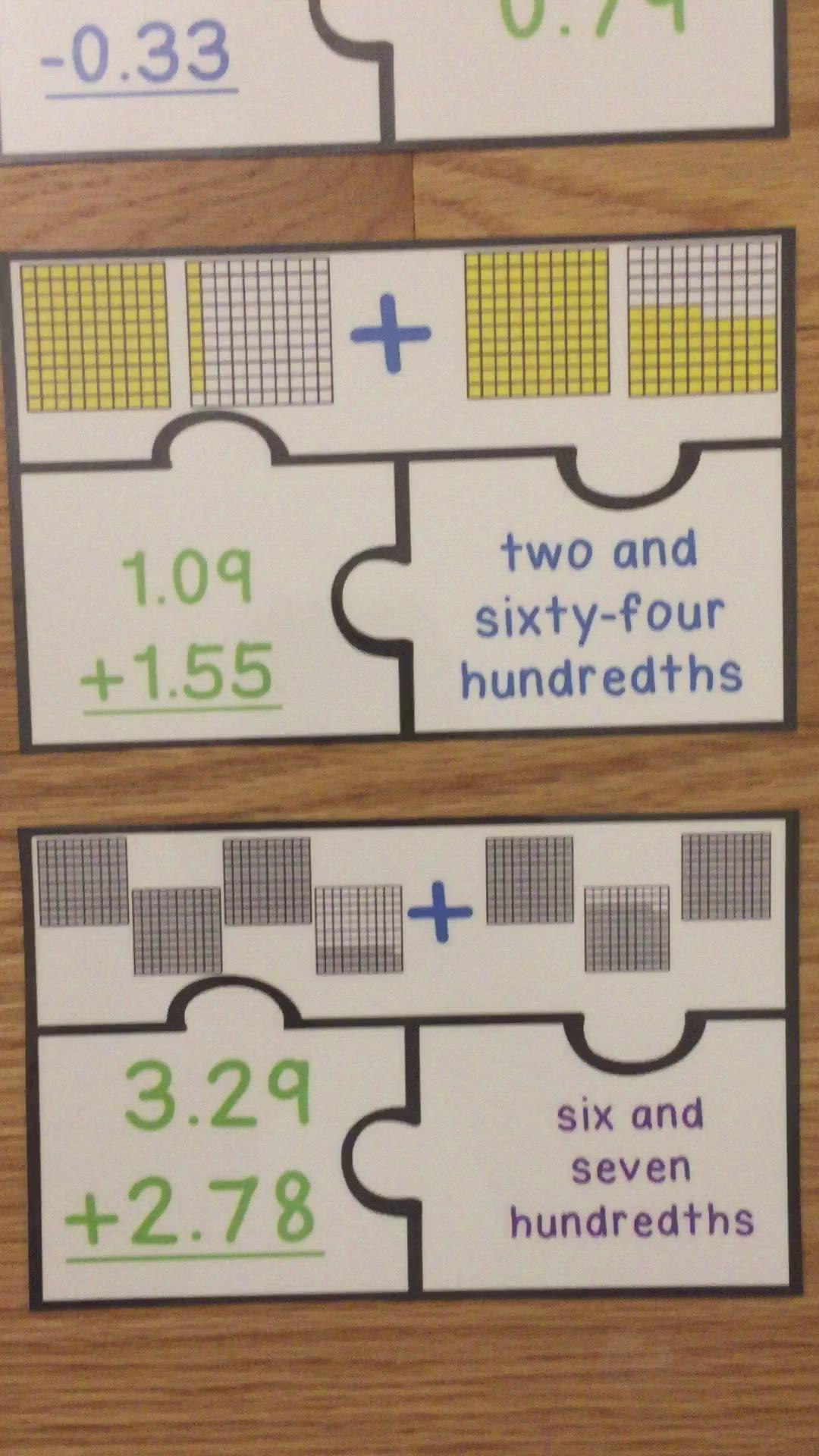 Adding And Subtracting Decimals Game 5th Grade Math Puzzles 5 Nbt 7 Video Decimal Games Subtracting Decimals Subtracting Decimals Game Adding subtracting decimals video