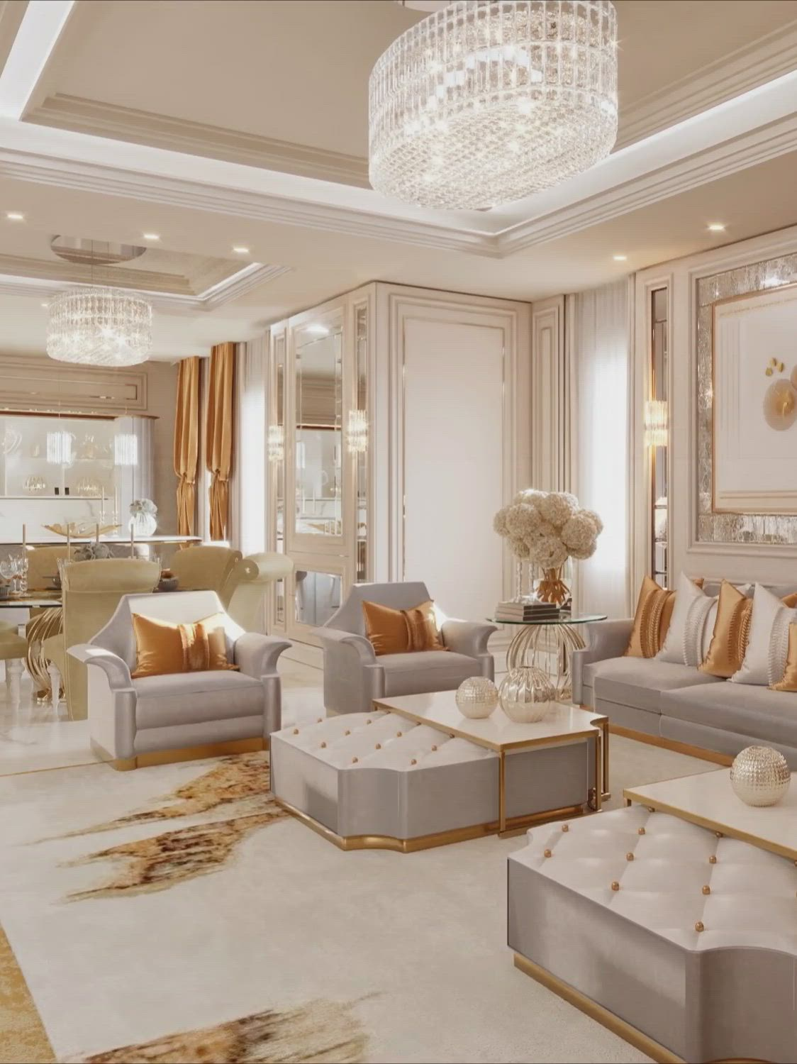 Contemporary Luxury Dream Family Living Room Interior Design Videos For Your Inspiration In 2020 Big Living Room Design Luxury Living Room Design Big Living R