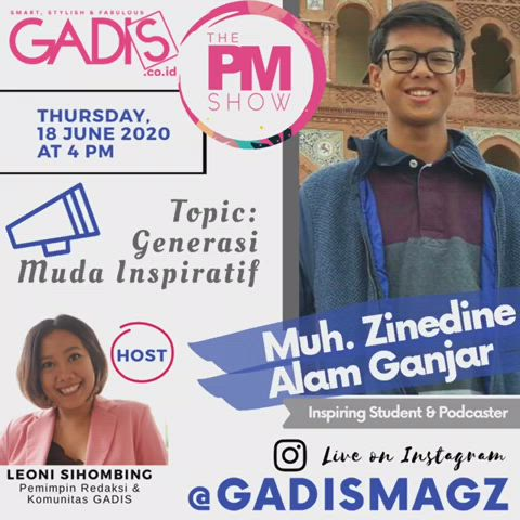 Gadis The Pm Show Muh Zinedine Alam Ganjar Survey Video In