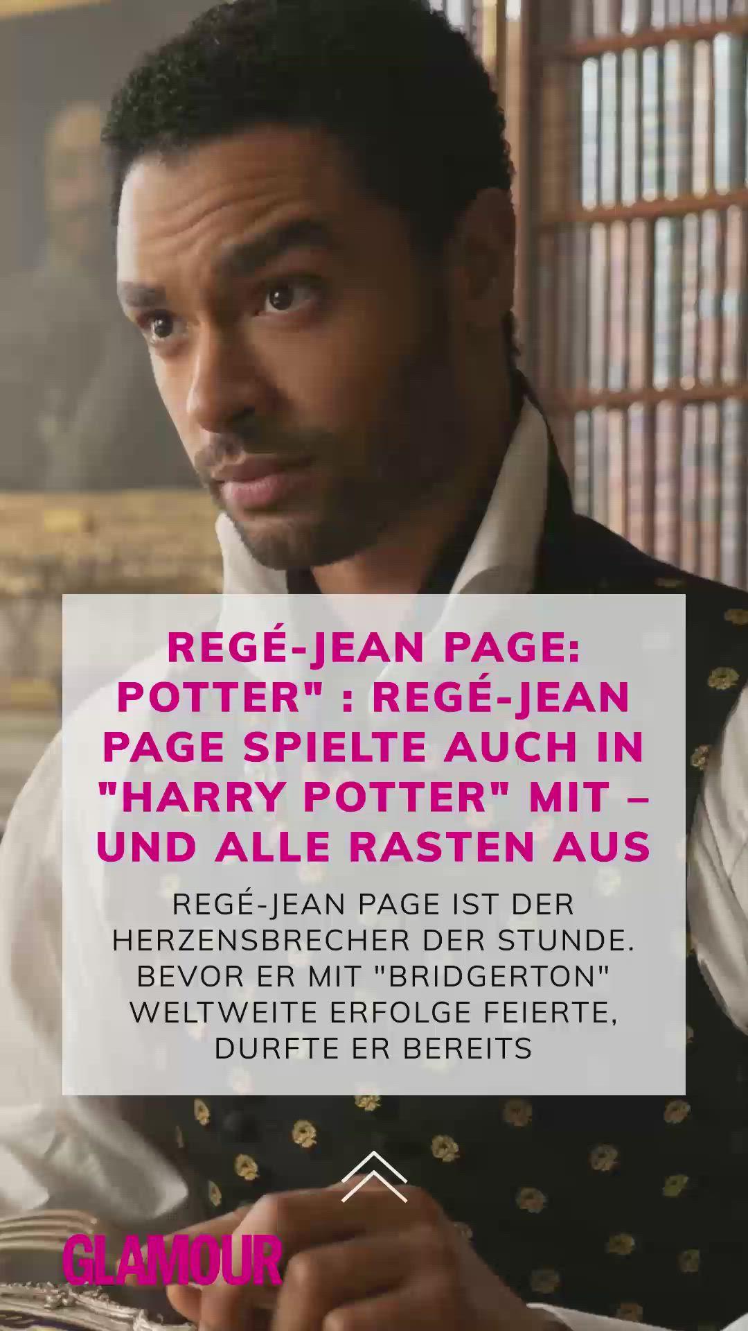 Bridgerton Star Rege Jean Page Bei Harry Potter Entdeckt Video Video In 2021 Netflix Filme Film Tipp Filme