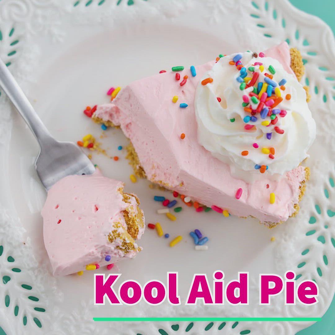 Kool Aid Pie Video Easy Dessert Recipes Quick Quick Easy Desserts Desserts