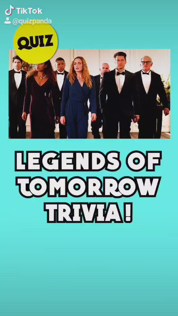 Video How Well Do You Actually Remember Legends Of Tomorrow Find Out With This 10 Second Quiz Di 2021