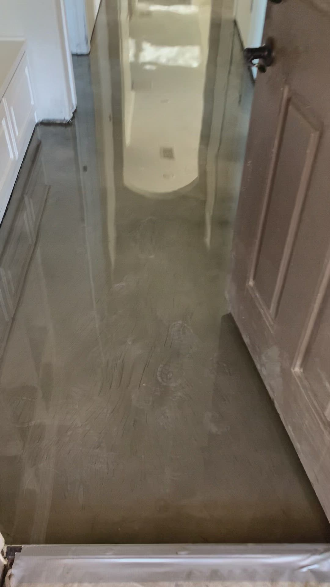 Metallic Epoxy Floors Video Metallic Epoxy Floor Concrete Floors Flooring