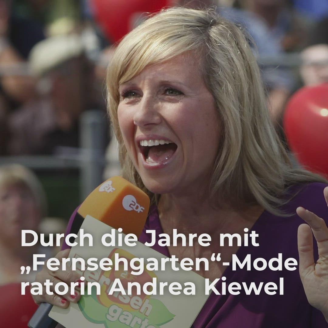 Durch Die Jahre Mit Fernsehgarten Moderatorin Andrea Kiewel Video Video Deutsche Moderatorin Zdf Fernsehgarten Moderator