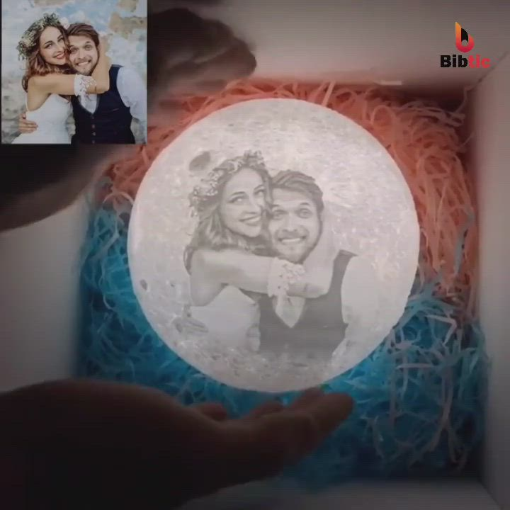 Customized Moon Lamp Video In 2020 Mother Birthday Gifts Boyfriend Gifts Diy Gifts For Boyfriend