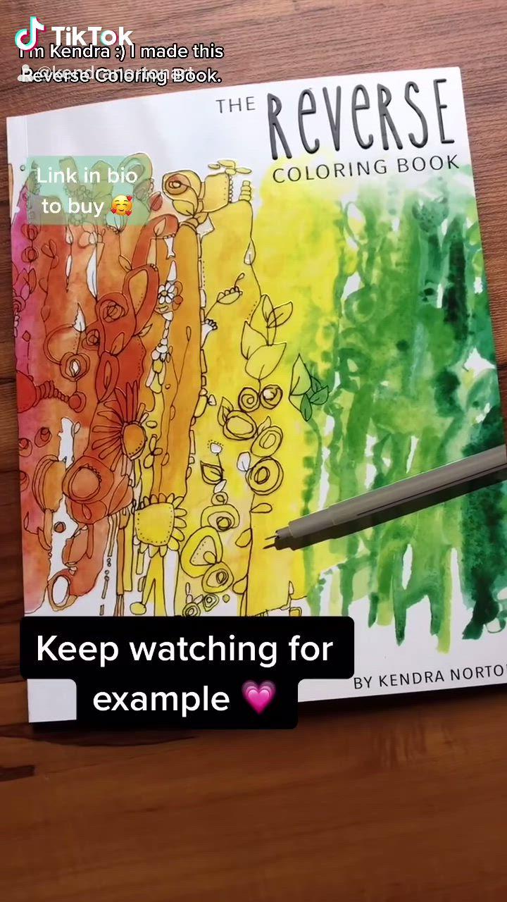 The Reverse Coloring Book Video In 2021 Mandala Coloring Pages Book Art Flower Coloring Pages