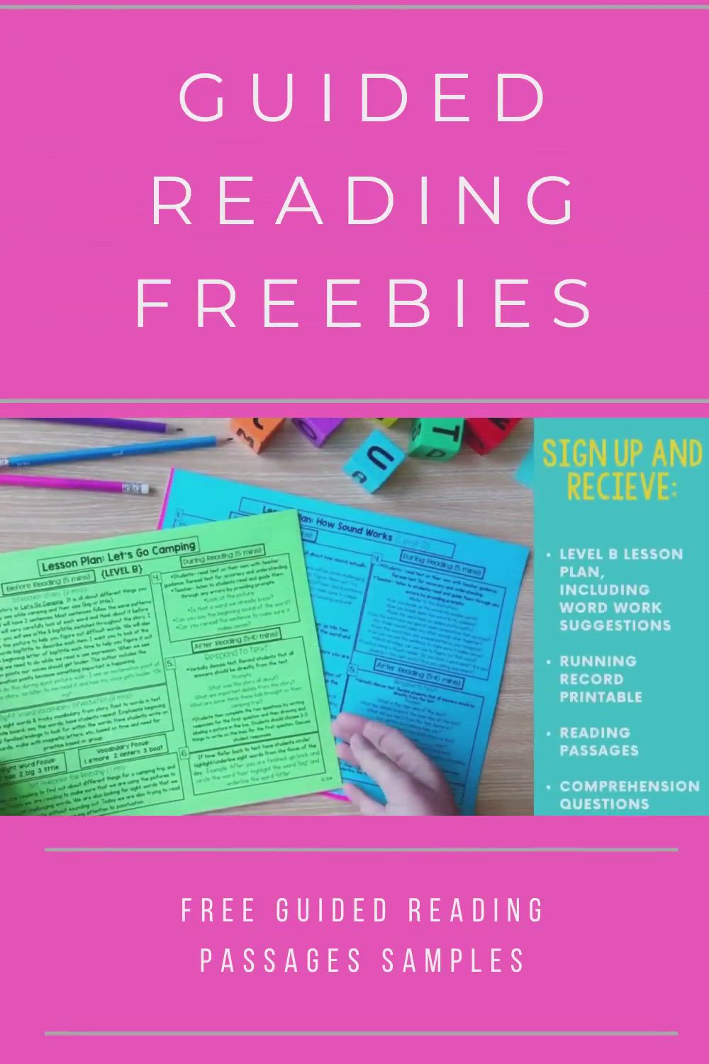 Engaging All Readers Video Guided Reading Lessons Teaching Freebies Guided Reading Guided reading lesson grade video