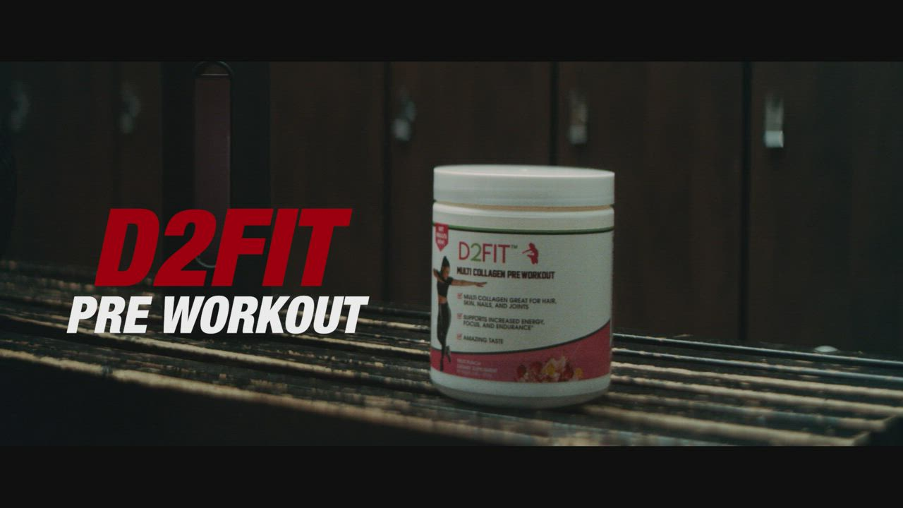 D2fit Pre Workout Video How To Increase Energy Preworkout Fun Workouts