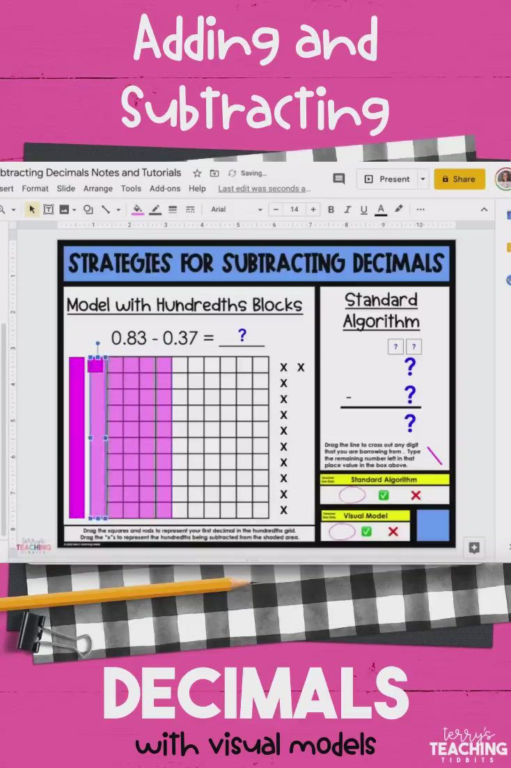Adding And Subtracting Decimals Digital And Printable Bundle Distance Learning Video Video Subtracting Decimals Adding And Subtracting Subtraction Adding subtracting decimals video