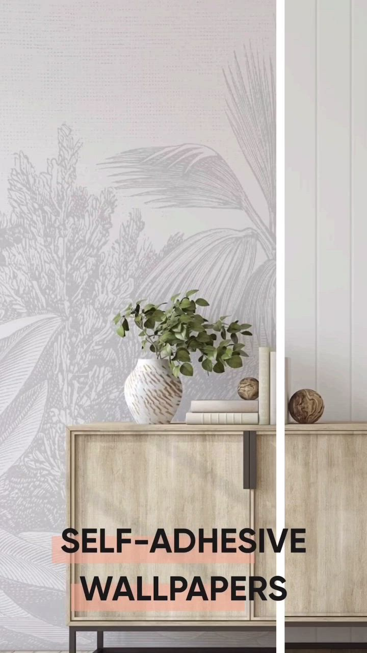 Shop Peel Stick Self Adhesive Wallpapers By Olive Et Oriel The Ultimate Diy Project For Your Hom Video In 2021 Self Adhesive Wallpaper Wallpaper Apartment Interior Design