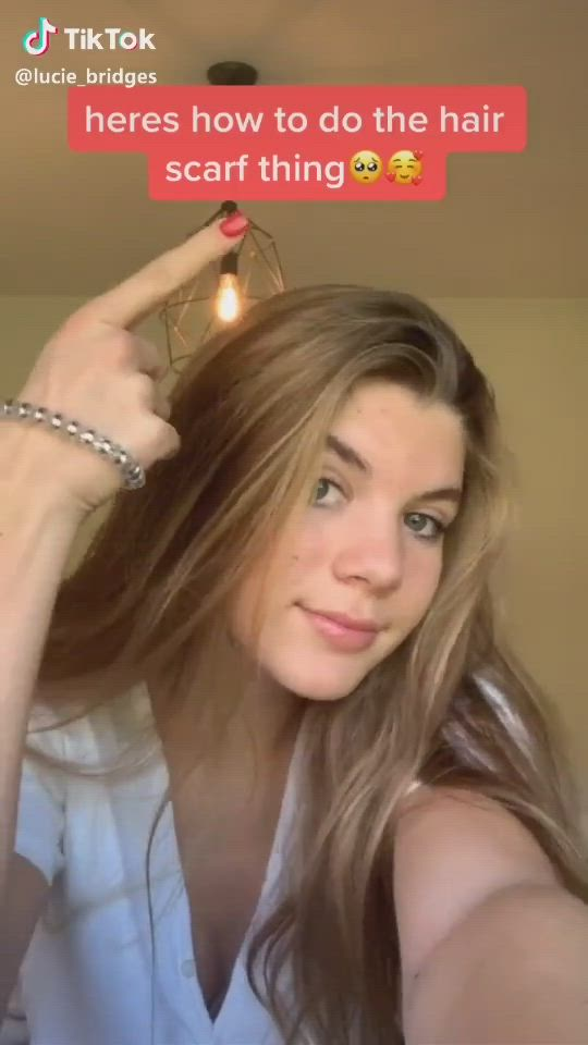 Hair Scarf Tutorial Tik Tok Video Hair Scarf Styles Hair Scarf Tutorial Scarf Hairstyles