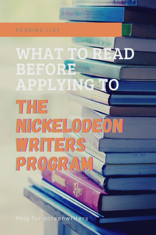Nickelodeon Writers Program : nickelodeon, writers, program, Books, Before, Applying, Writers, Program, [Video], Screenwriting,, Screenwriting, Tips,