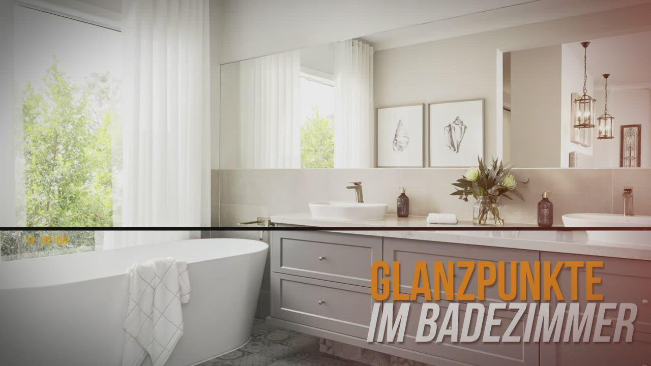 Glanzpunkte Im Bad Video In 2020 Brausegarnitur Haustechnik Brause