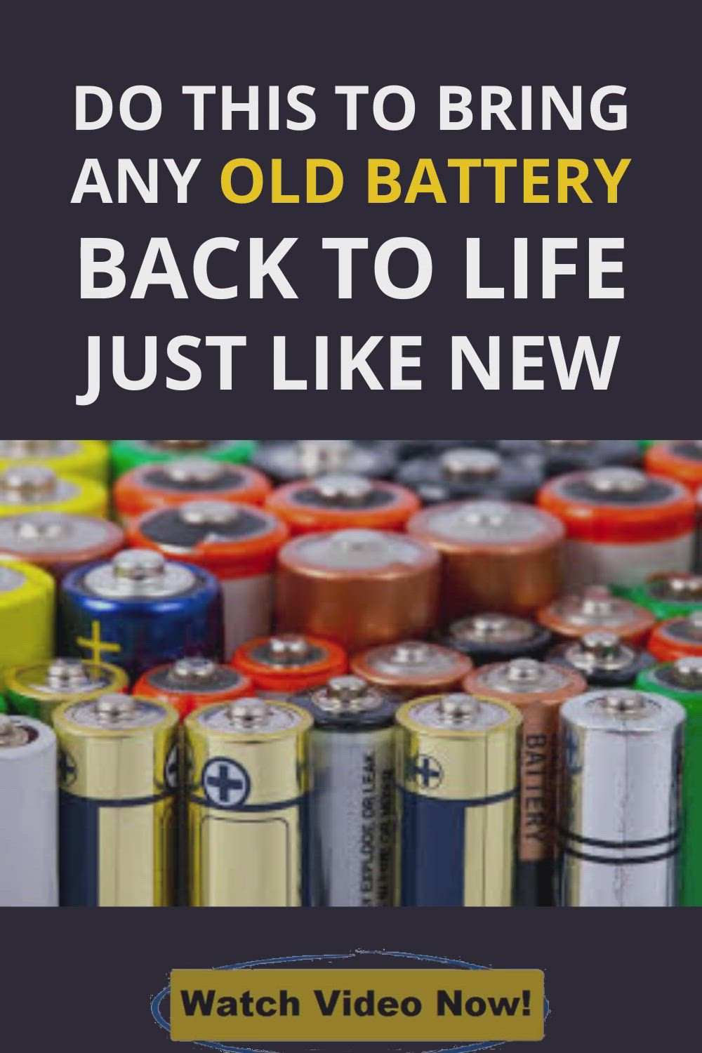 How To Restore A Battery Reconditioning Nicad Batteries Diy Battery Reconditioning Business Video In 2021 Car Battery Charger Ryobi Battery Battery Repair
