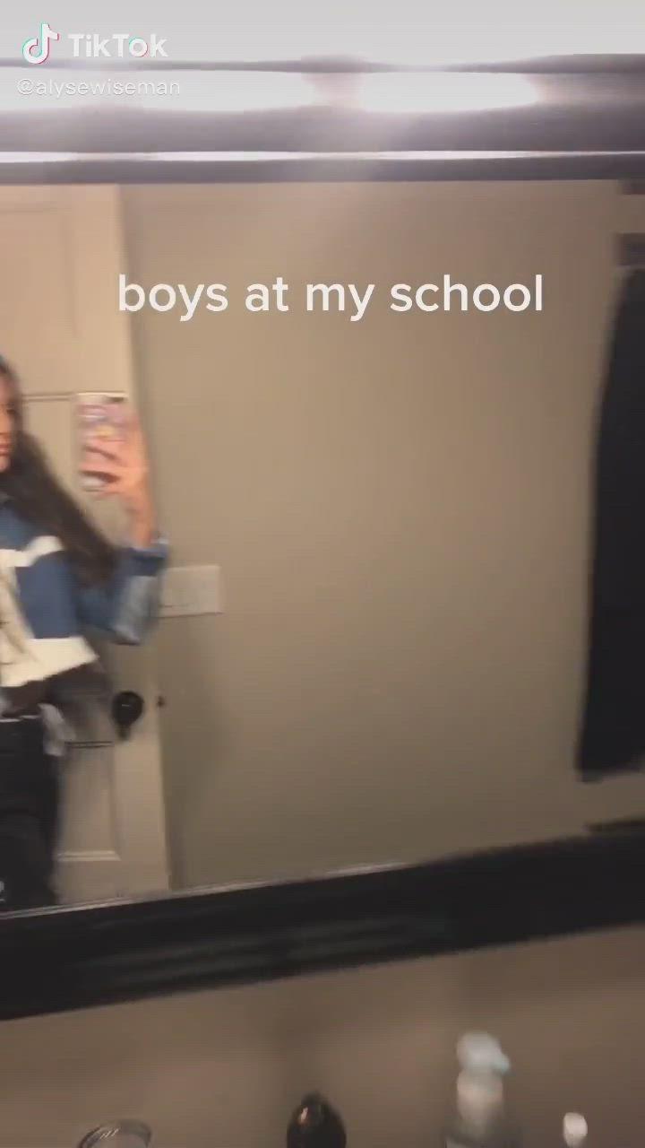 Pin By Kezia Van Den Berg On Tik Toks Video Funny Clips I School Boys