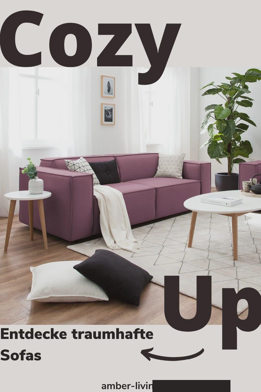 Gemütliche Sofas Couches In Tollen Farben Und Designs Zum Verlieben Video In 2020 Räume Mit Dachschrägen Sofa Design Kleine Wohnzimmer