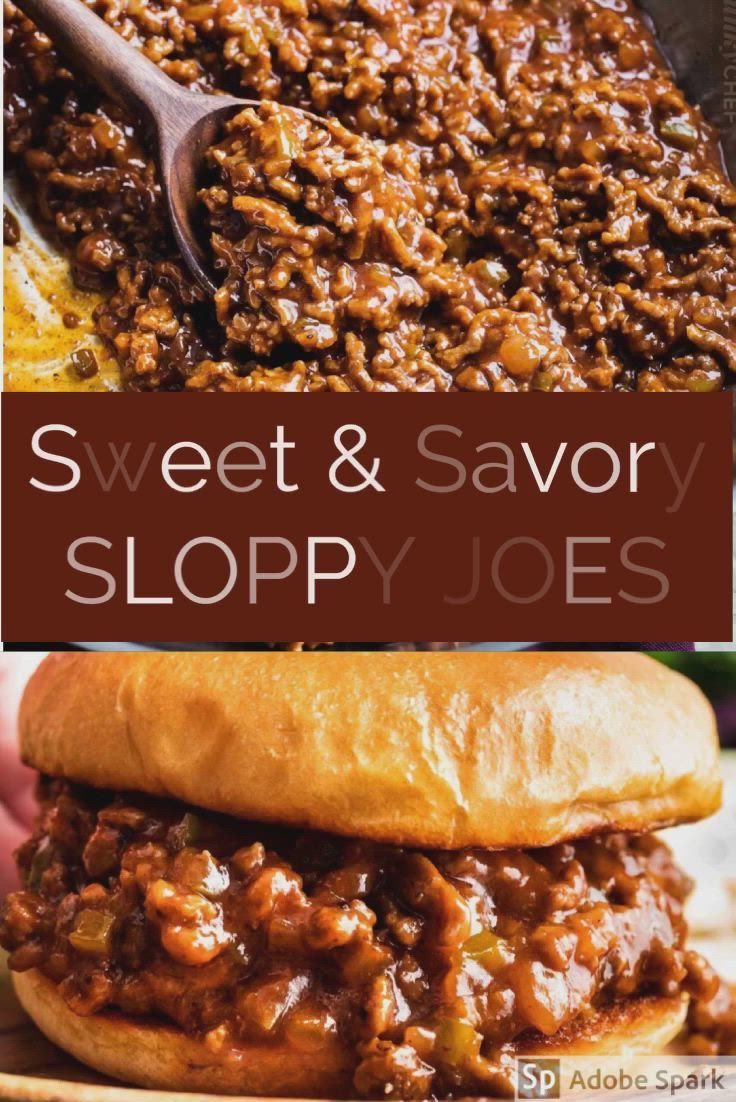 These Sloppy Joes Are So Hearty And Easy To Make Recipe Sloppy Joes Homemade Sloppy Joe Recipe Homemade Sloppy Joes