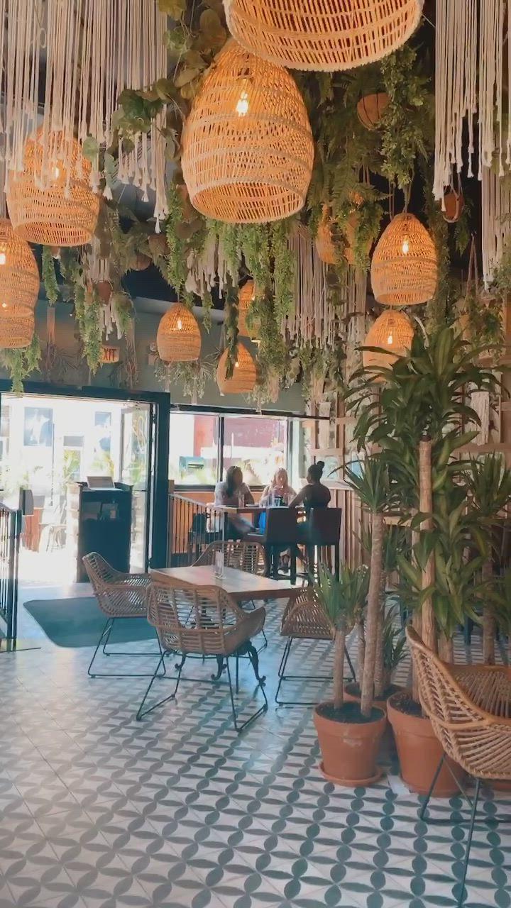 New Mexican Restaurant In Chicago Video Rooftop Restaurant Design Mexican Restaurant Design Mexican Restaurant Decor