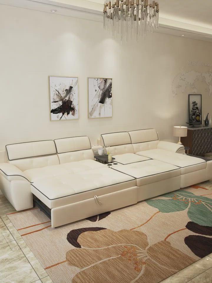 Big Modular L Shape Folding Sofa Video In 2020 Furniture Design Living Room Bedroom Furniture Design Big Living Rooms