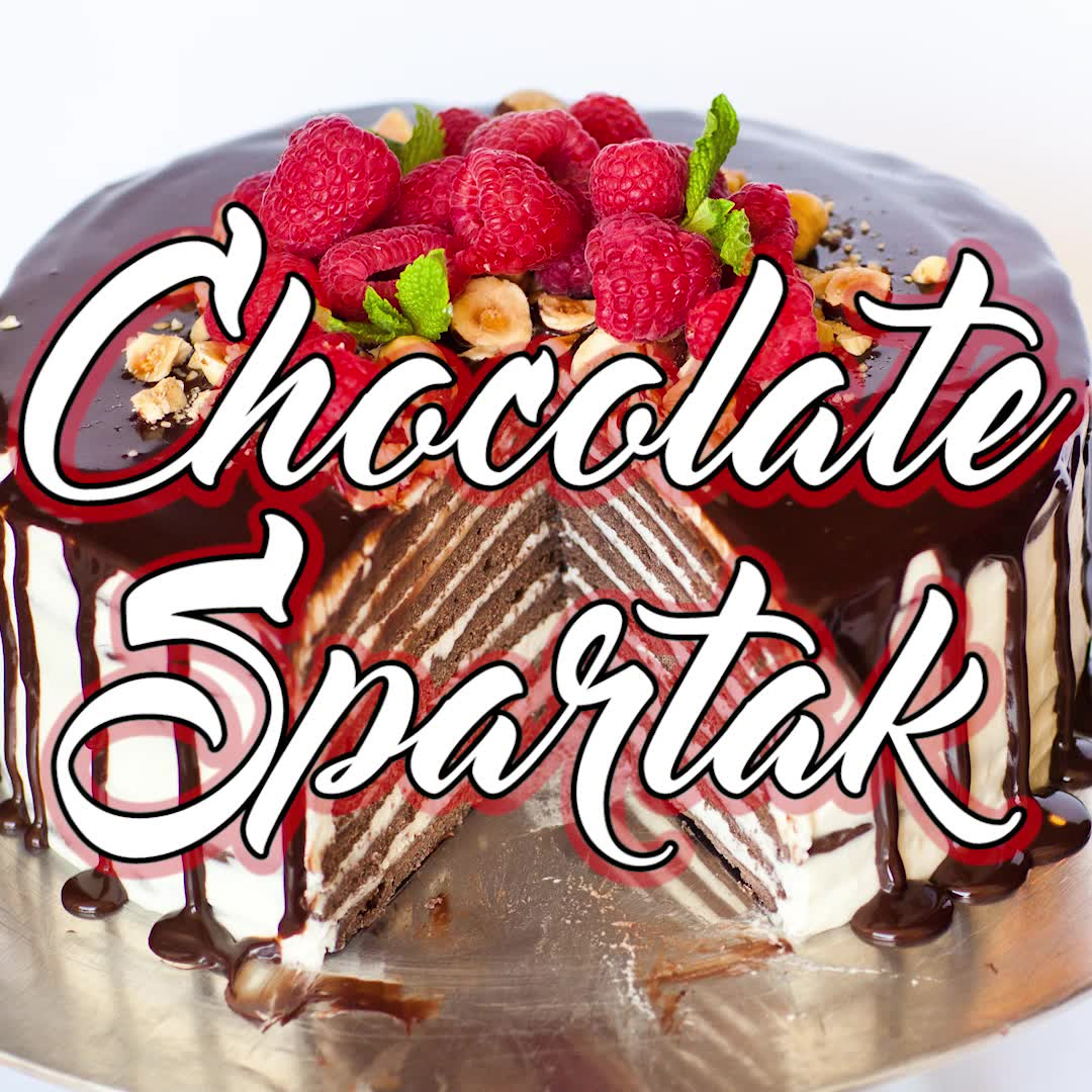 Chocolate Spartak Cake Video Tatyanas Everyday Food Recipe Russian Cakes Christmas Cupcakes Recipes Cake Recipes
