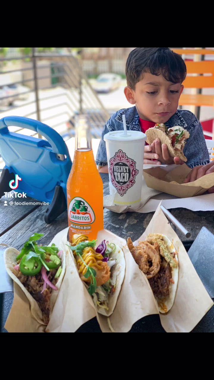Velvet Taco Montrose Video Video In 2021 Grilled Shrimp Recipes Shellfish Recipes Pork Sandwich