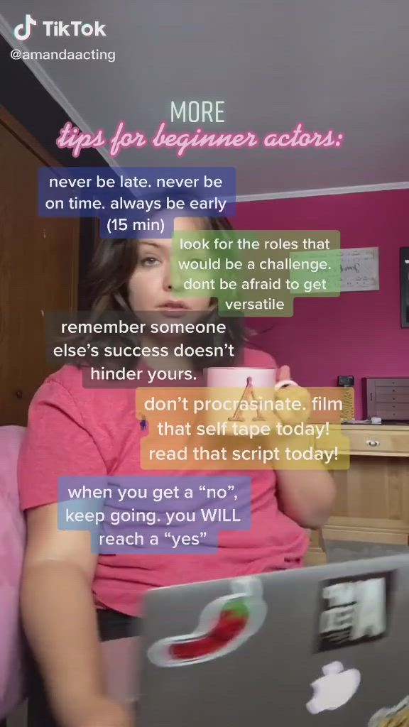 If You Want To Be An Actor Go For It What Are You Waiting For Video In 2021 Acting Acting Tips Starting A New Job