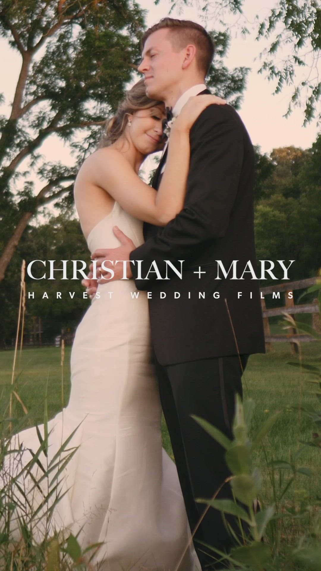 Beautiful Couple In The Cornfields Christian Mary Video In 2020 Wedding Highlights Video Wedding Film Wedding Videos
