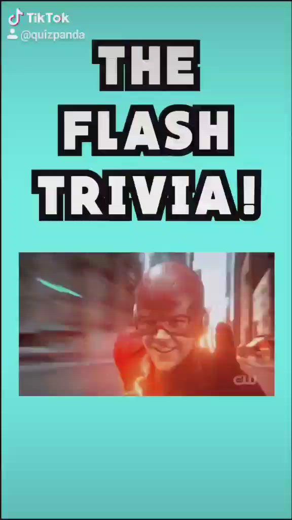 Video The Flash Trivia On Tiktok Quiz Panda