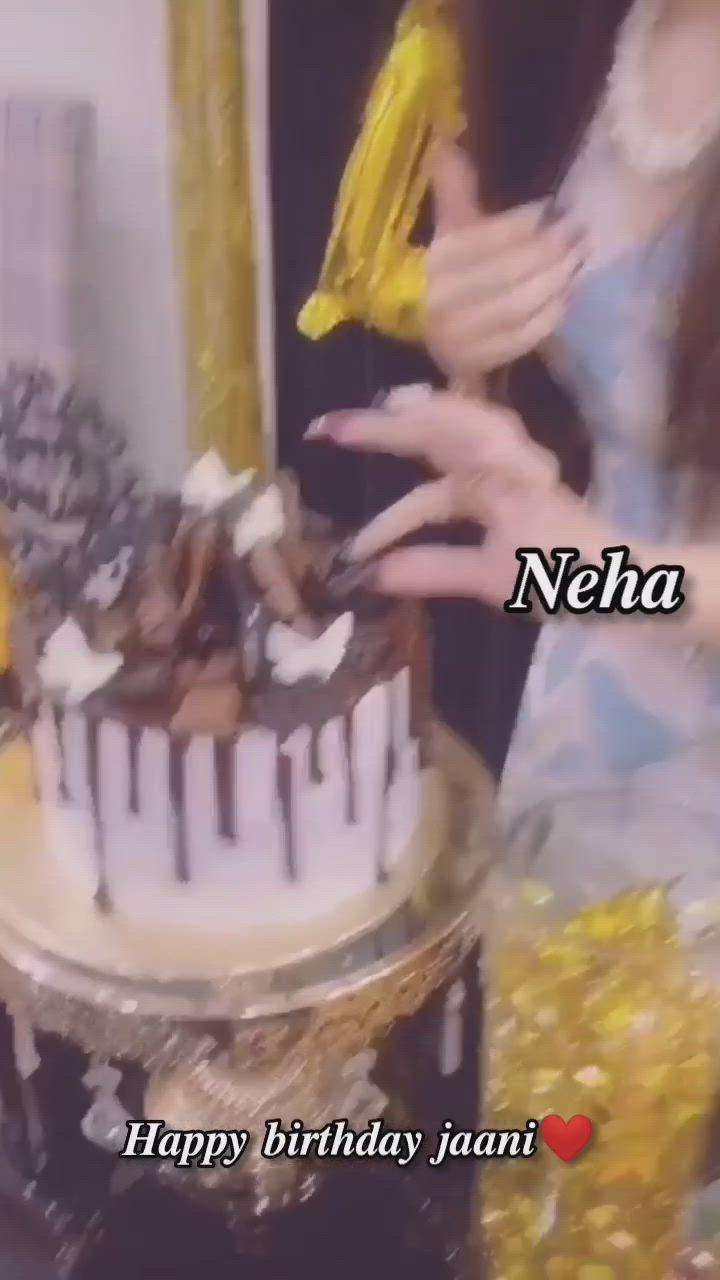 Jiya Malik Happy Birthday Neha May Allah Bless You A Lot Jaani Video In 2021 Birthday Fizz Happy Returns