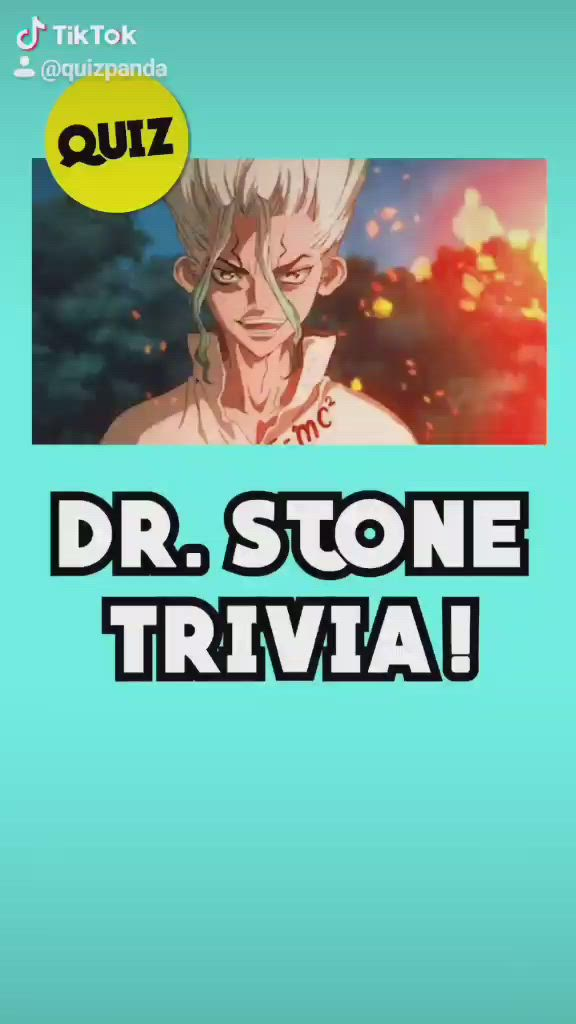 Video How Well Do You Remember Dr Stone Tiktok Quiz By Quiz Panda
