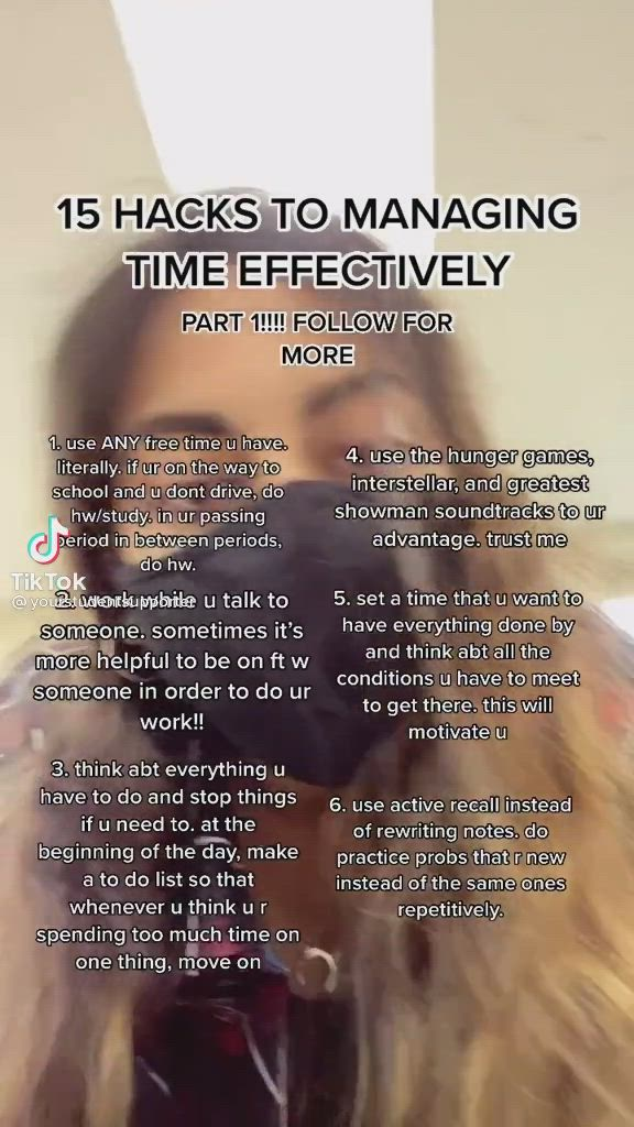 Managing Time Hacks Video In 2021 Study Tips College College Care Package College Humor