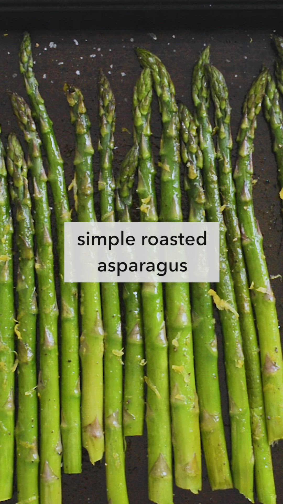 How To Roasted Asparagus Video Recipe Video Asparagus Recipes Baked Grilled Asparagus Recipes Roasted Asparagus