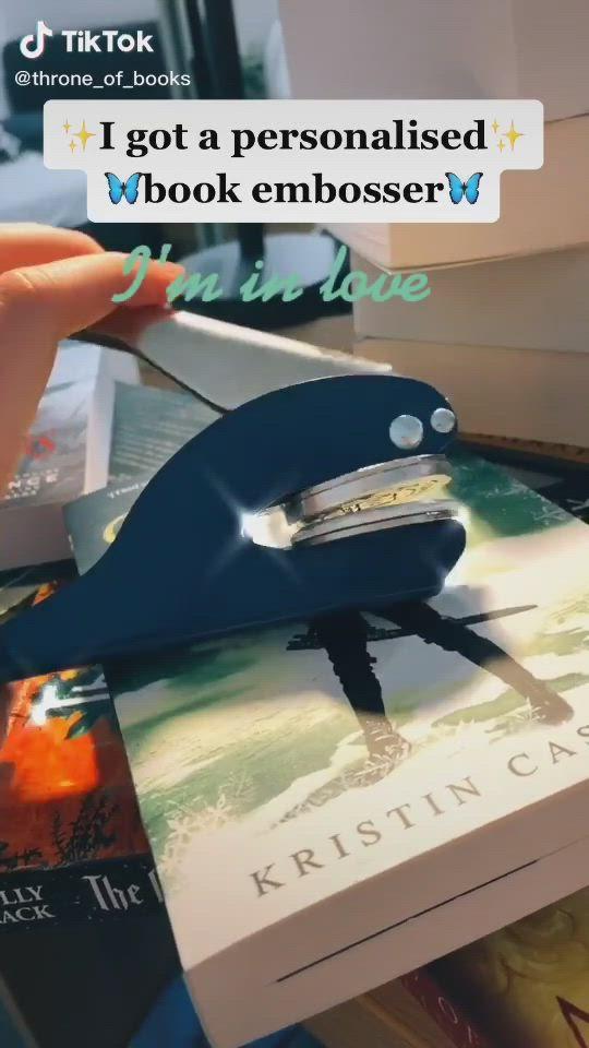Book Embosser Video Book Lovers Useful Life Hacks Cool Things To Buy