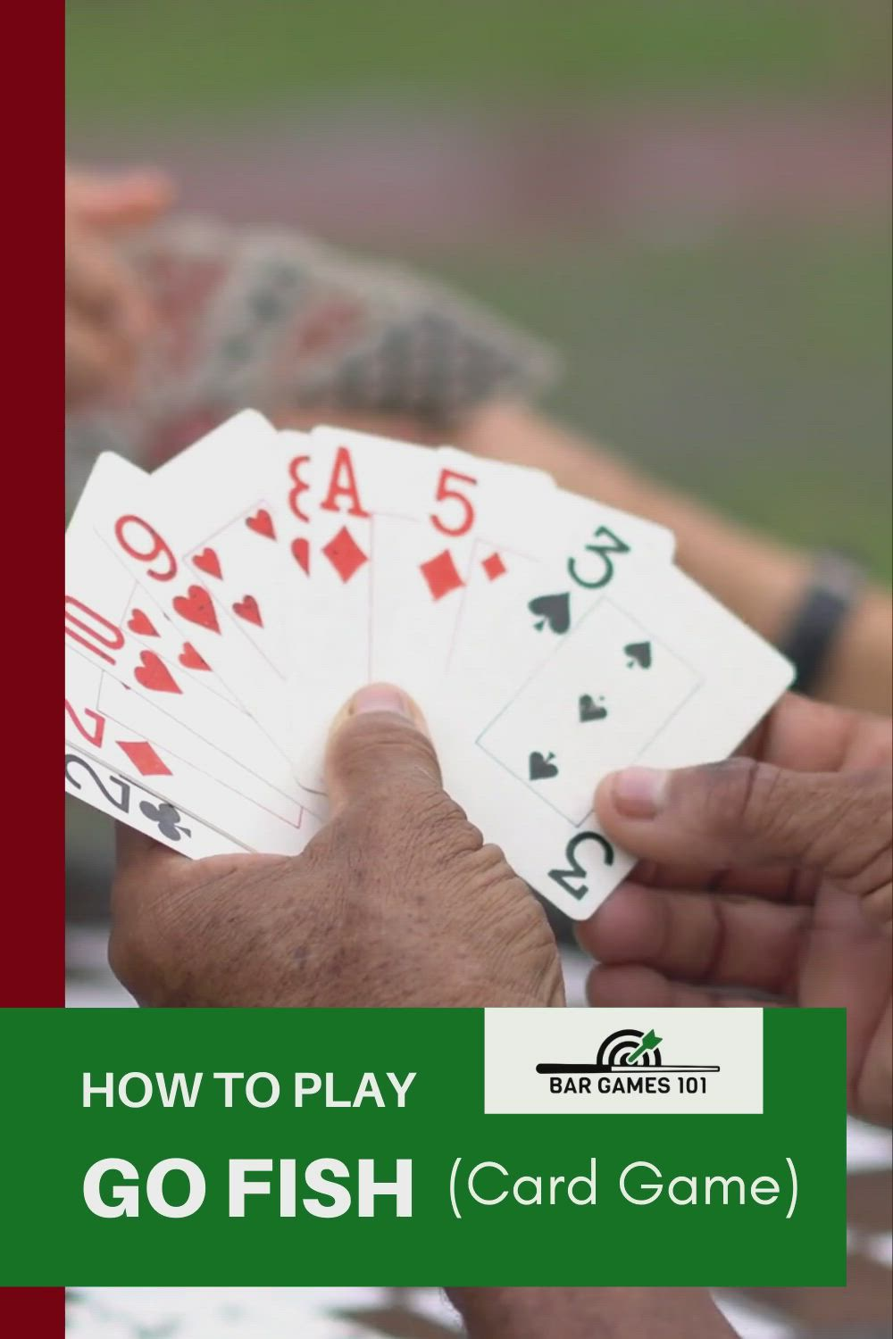 How To Play Go Fish Card Game Go Fish Rules Video Video Card Games Fishing Cards Play N Go