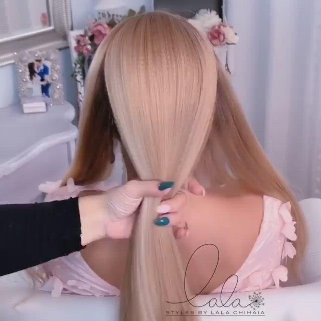 Beautiful Hairstyle Video Elegant Braided Hairstyle Hair Stylist Life Hair Tutorial