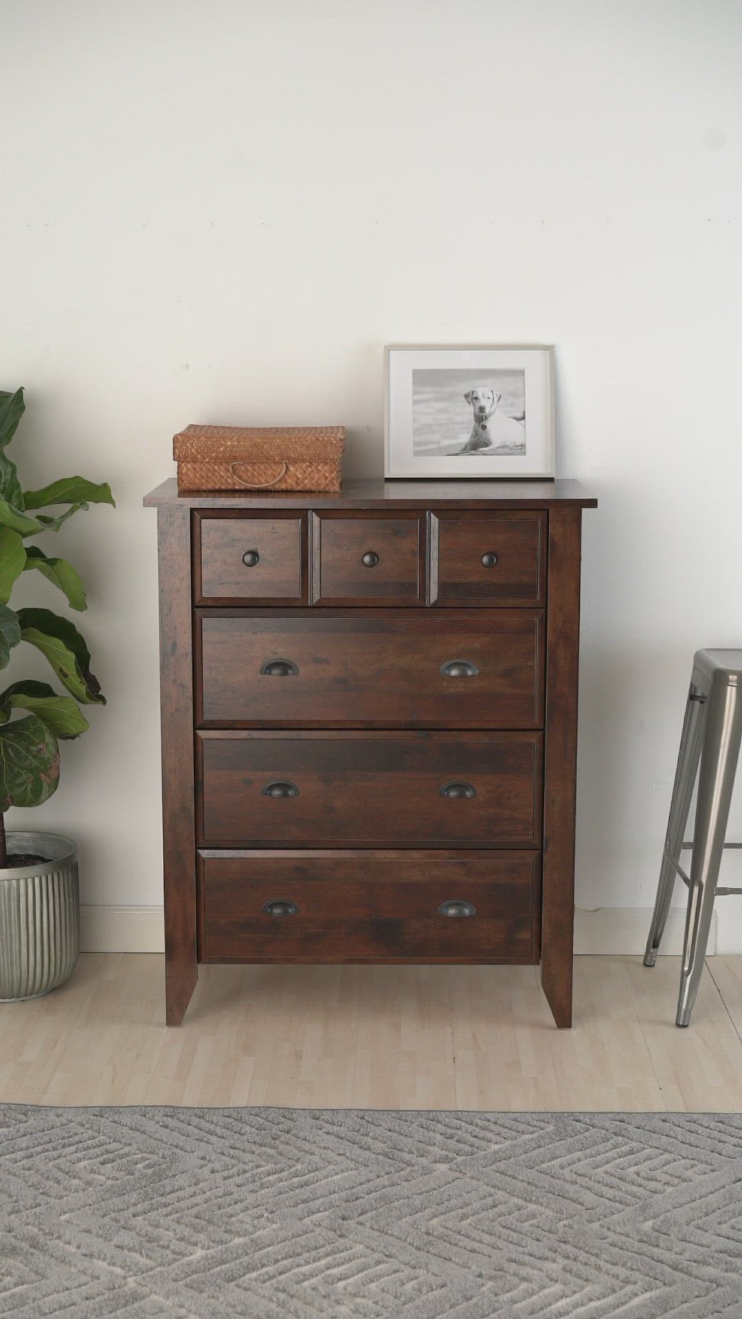 c354bfa3a0278d8598bc597aa816bca9.0000001 - Better Homes & Gardens Leighton Night Stand Rustic Cherry Finish