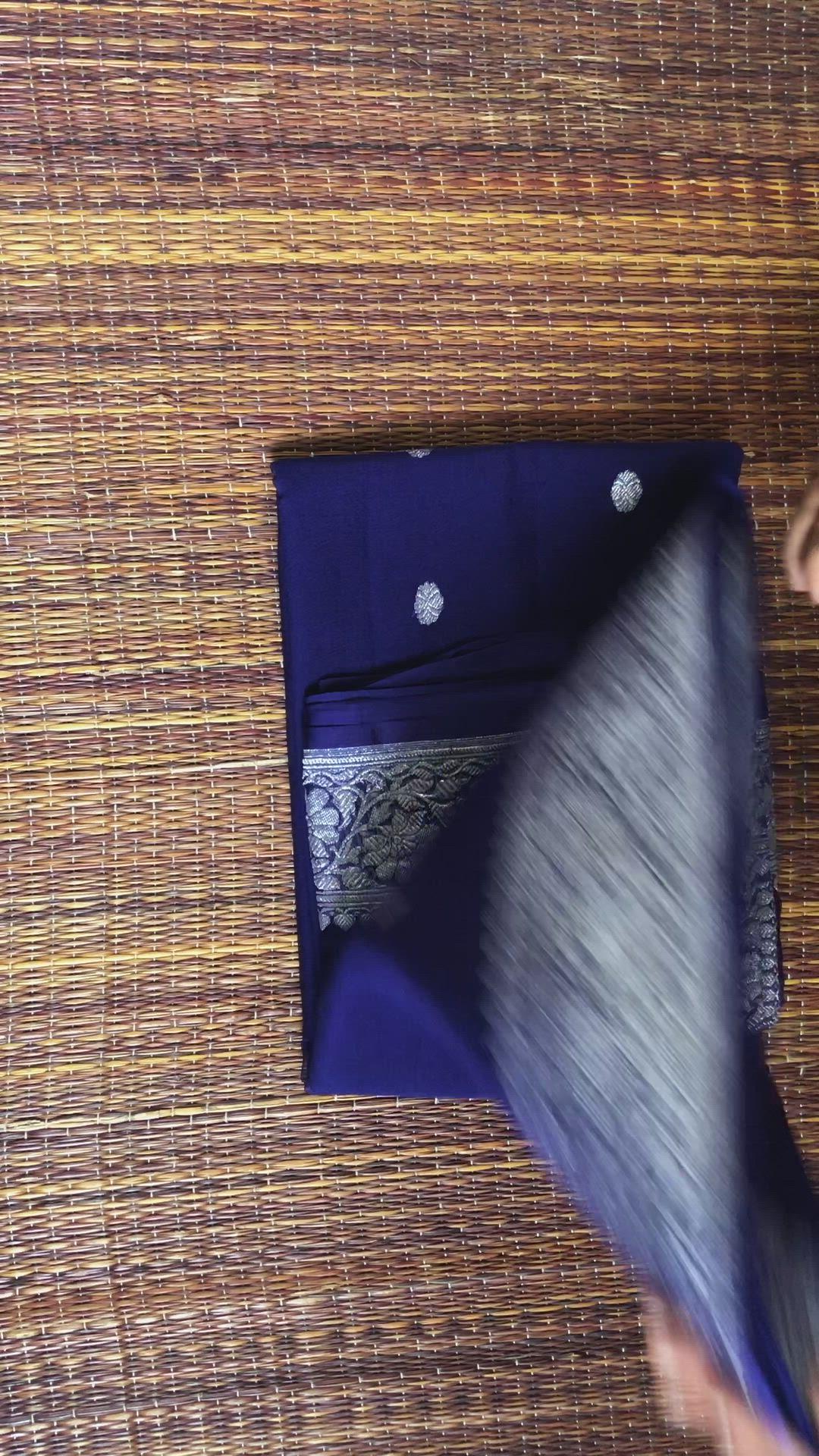 Khaddi Silk Banarsee Saree Chiffon Zari Weddingsaree Kerala Southindianwedding Video Chiffon Saree Saree Tassels Designs Saree Tassels