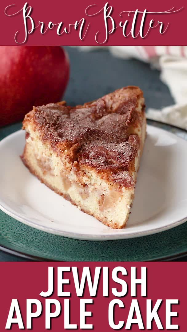 Absolutely Delicious Video In 2020 Jewish Apple Cakes Apple Cake Recipes Jewish Desserts