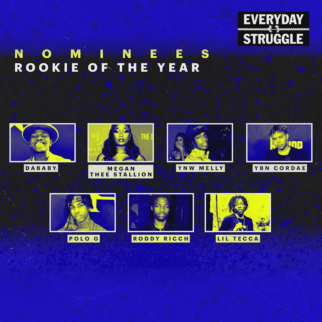 Who Do You Think Deserves The 2019 Rookie Of The Year Award Video Hip Hop Music Lyrics How To Find Out