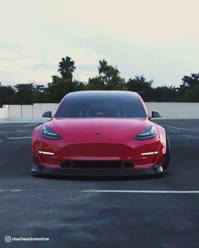 Charlie Automotive Spotted Teslamotors Tesla Model3