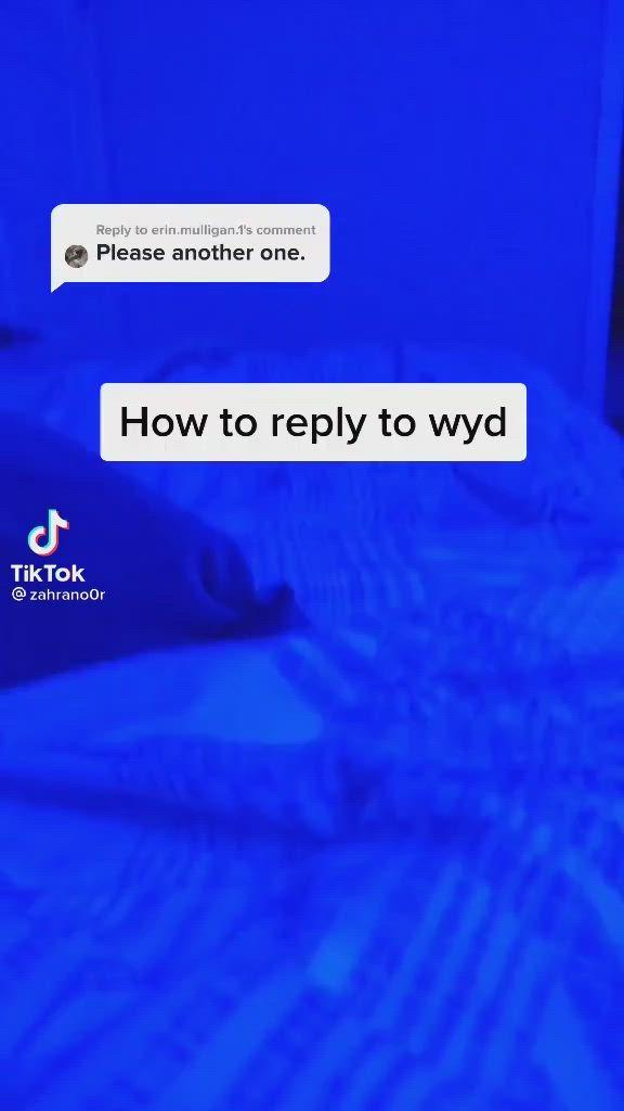 Wyd text response
