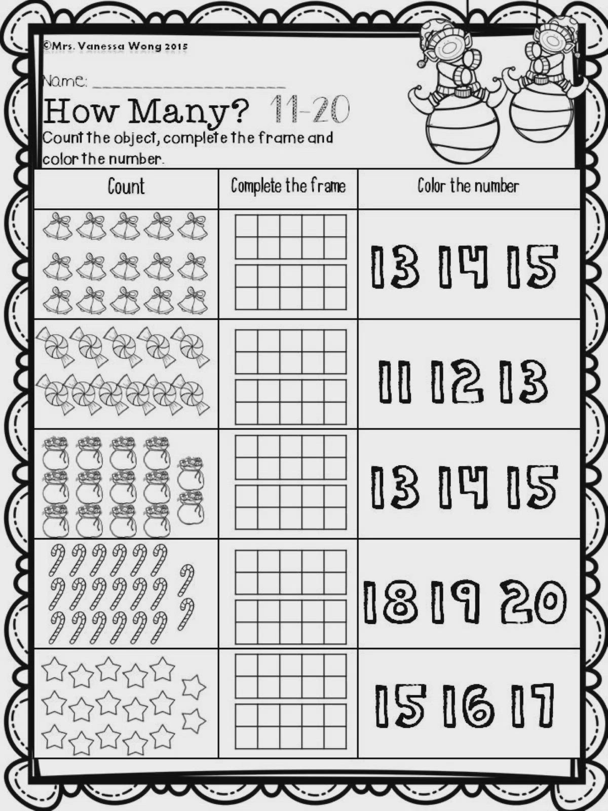 Christmas Math And Literacy No Prep Kindergarten Video Video Christmas Math Kids Math Worksheets Christmas Kindergarten [ 1600 x 1200 Pixel ]
