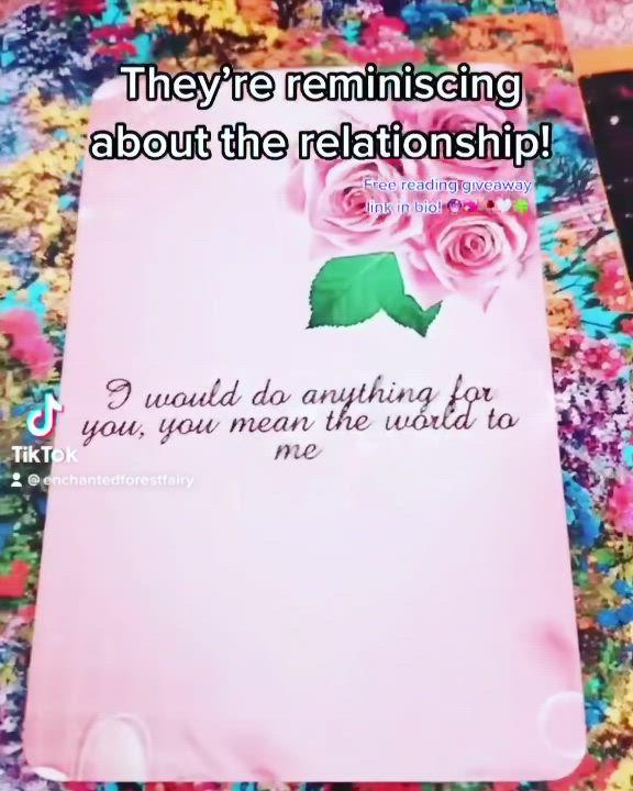 Https Msha Ke Enchantedforestfairy Video In 2021 Paper Cards Love Poems Tarot Spreads